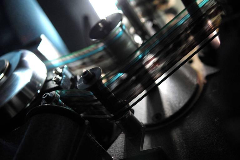 Projetor de película 35 mm