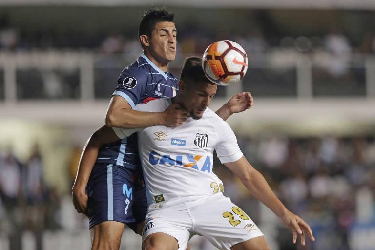 Santos parou na defesa dos peruanos, que se fecharam atrás e não levaram perigo algum ao gol de Vanderlei