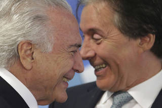 Michel Temer, Eunicio Oliveira