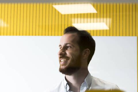 SAO PAULO, SP, 24.03.2018, 13h: Retrato de Matheus Moraes, que assumiu o cargo de presidente da 99 depois da compra milionária do app pela chinesa Didi. (Foto: Rafael Roncato/Folhapress, MERCADO) ***EXCLUSIVO FOLHA***