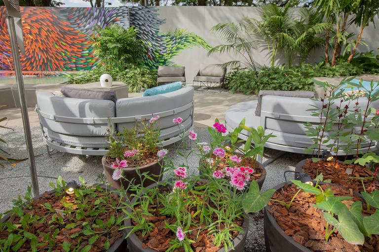 Plantas na Casacor