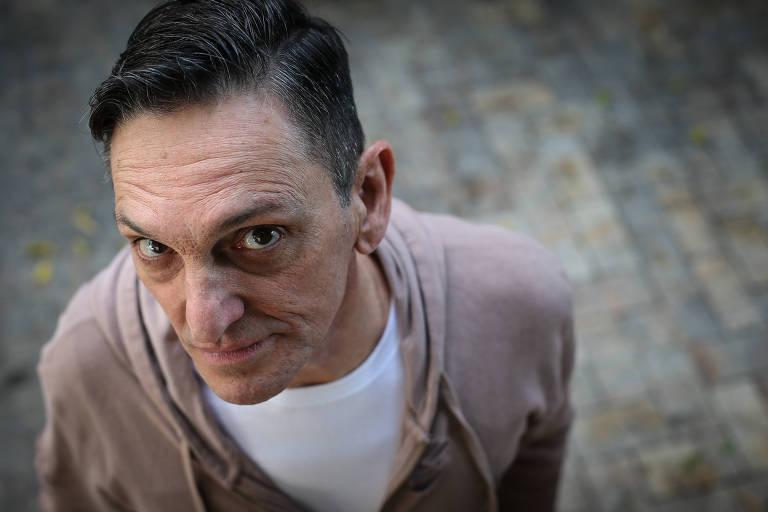 O cantor Paulo Miklos