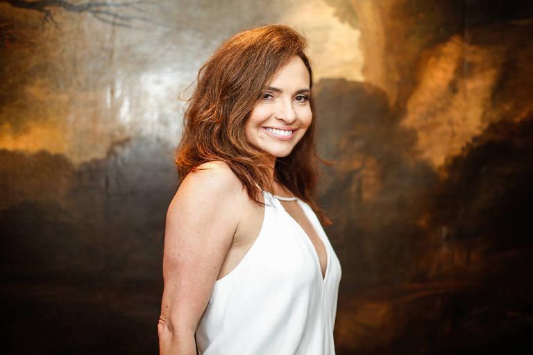 A atriz Luiza Tomé