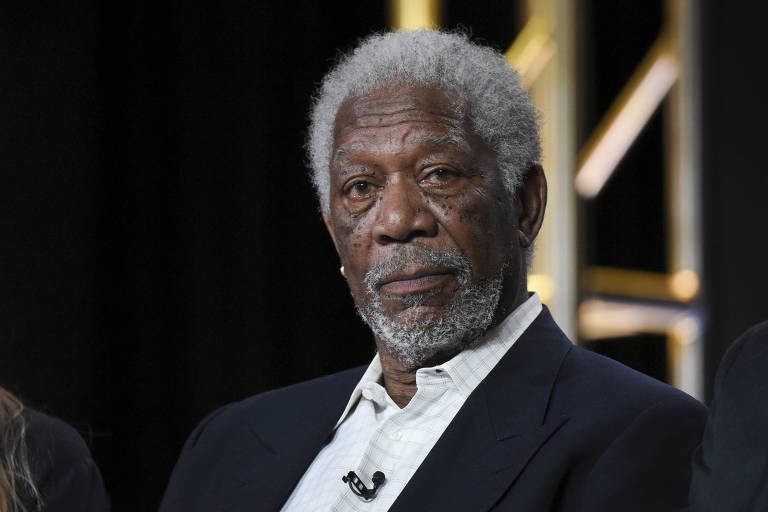 O ator Morgan Freeman