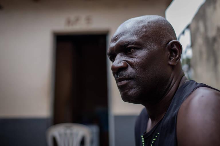 O haitiano Jean Baroh em Boa Vista