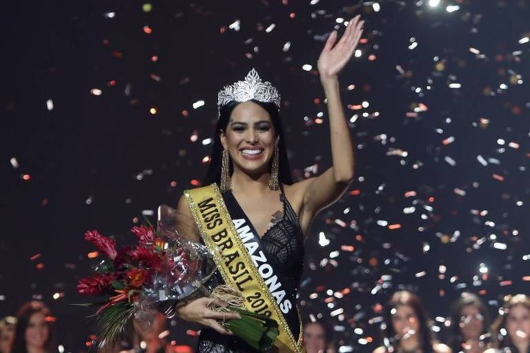 Mayra Dias, candidata do Amazonas, vence o Miss Brasil Be Emotion 2018