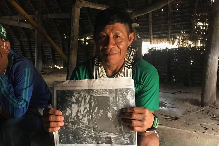 Vinte anos depois, índios recebem fotos de Sebastião Salgado