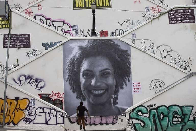 Escadaria da rua Cristiano Viana, em Pinheiros