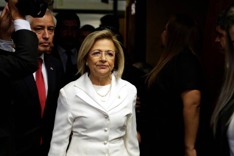 Alicia Pucheta, que deve assumir a Presidência do Paraguai