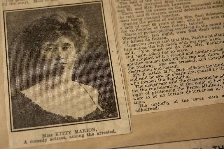 Autobiografia de Kitty Marion estava oculta em arquivos de museu até cair nas mãos de pesquisadora