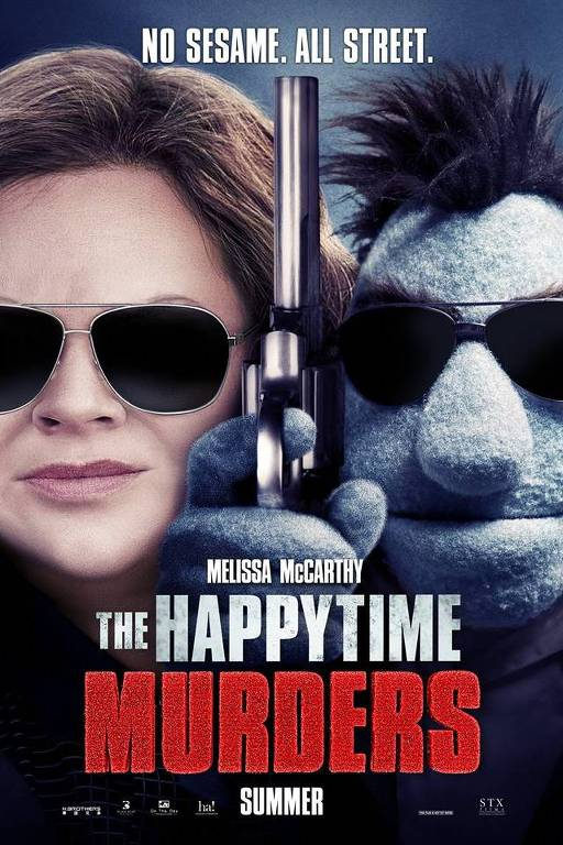 Melissa McCarthy na capa do filme 'The Happytime Murders'