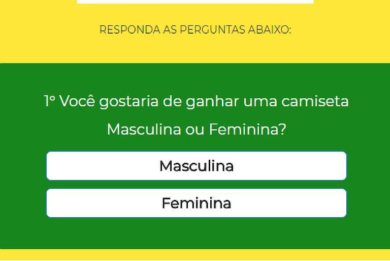 b1a2ec12af Site que oferece camisa grátis da seleção espalha vírus por WhatsApp -  28 05 2018 - Esporte - Folha