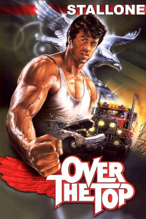 """Cartaz do filme """"Falcão, o Campeão dos Campeões"""", com Sylvester Stallone"""