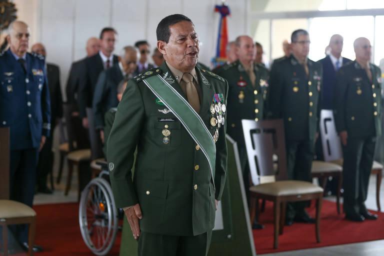 General de Exército Hamilton Mourão, anunciado como vice de Bolsonaro