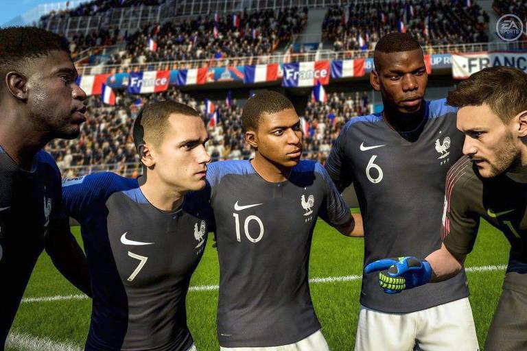 Fifa 18 prevê França como campeã da Copa do Mundo da Rússia
