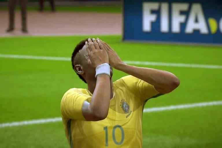 Para a EA Sports, Brasil é eliminado pela Bélgica nas quartas