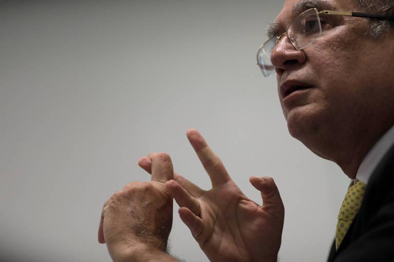 Ministro Gilmar Mendes, que disse que o presidencialismo, vigente no Brasil, já se esgotou