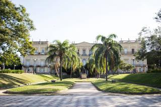 O Museu Nacional, na Quinta da Boa Vista