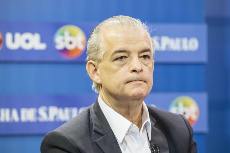 Márcio França, pré-candidato à reeleição ao governo de São Paulo pelo PSB, em sabatina com Folha, UOL e SBT