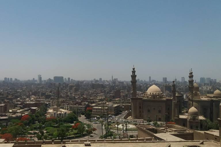 Vista da cidade do Cairo a partir da Citadela