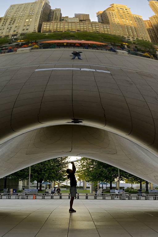'Chicago solitária', de Lucas Lenci
