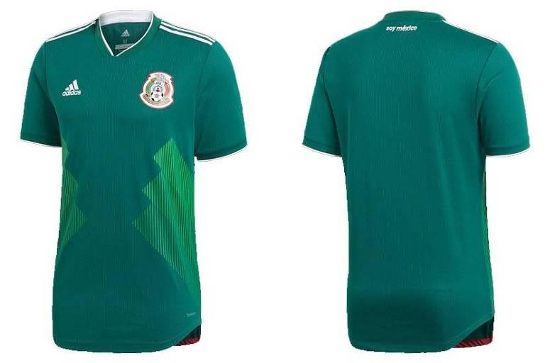 Os uniformes das 32 seleções que irão disputar a Copa da Rússia