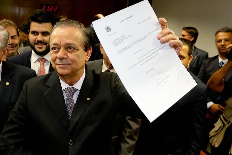 O deputado Jovair Arantes (PTB), que foi detido na Operação Registro Espúrio