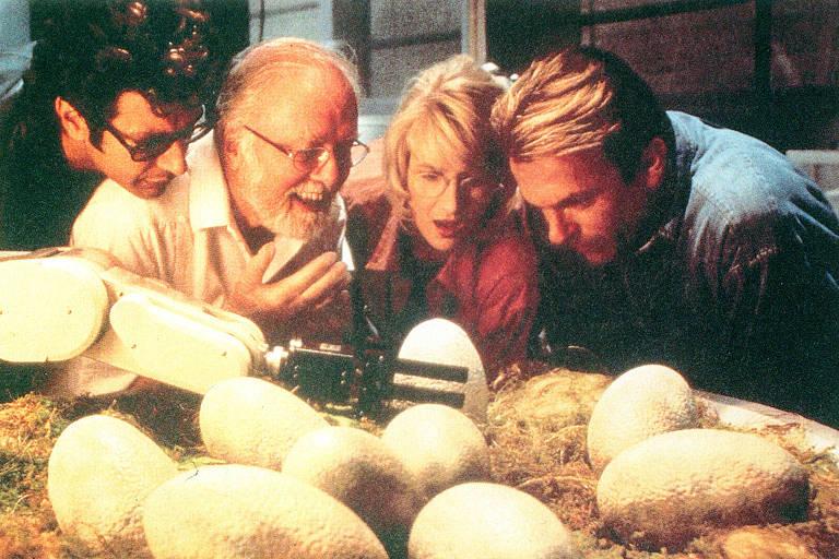 """Cena do filme """"Jurassic Park"""""""