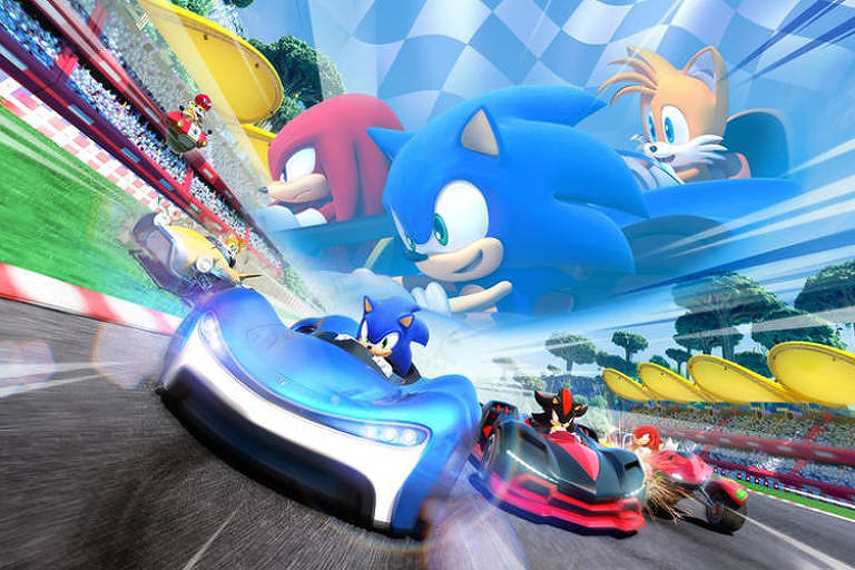 'Team Sonic Racing' é novo game de corrida da Sega