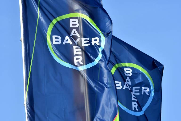 Logo da companhia de produtos químicos Bayer