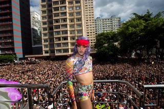 Pabllo Vittar na 21ª Parada do Orgulho LGBT de São Paulo