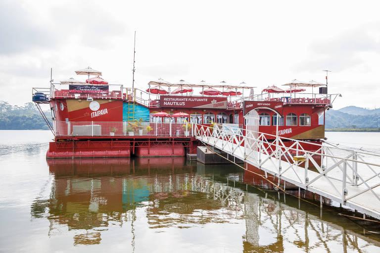 Restaurantes flutuantes na Billings