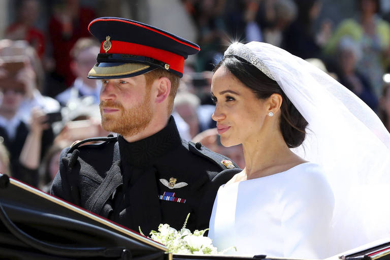 Príncipe Harry e Meghan Markle se casaram no dia 19 de maio de 2018