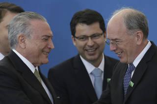 Michel Temer, Pedro Parente, Paulo Rogerio Caffarelli