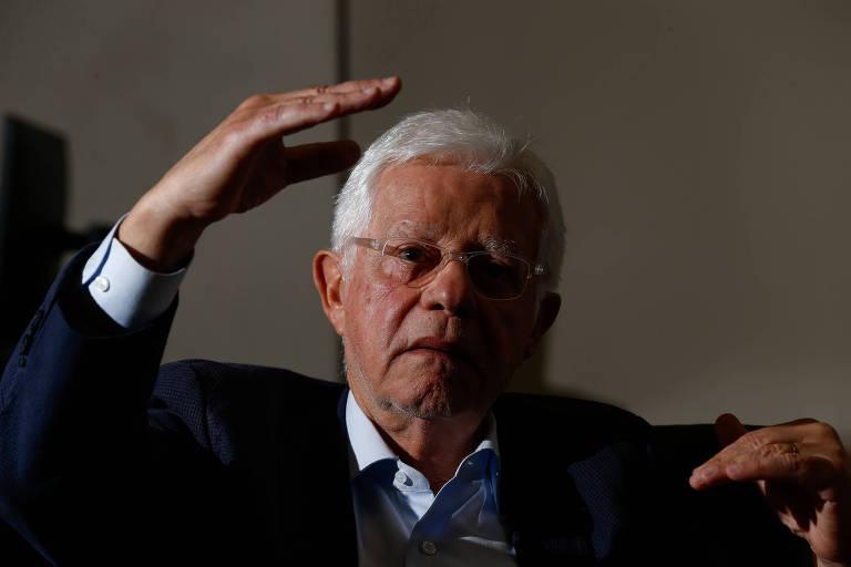 O ministro de Minas e Energia Moreira Franco durante entrevista exclusiva em seu gabinete