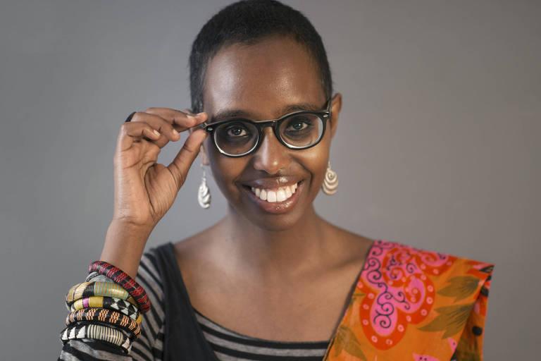 A escritora Igiaba Scego, que vem para a Flip