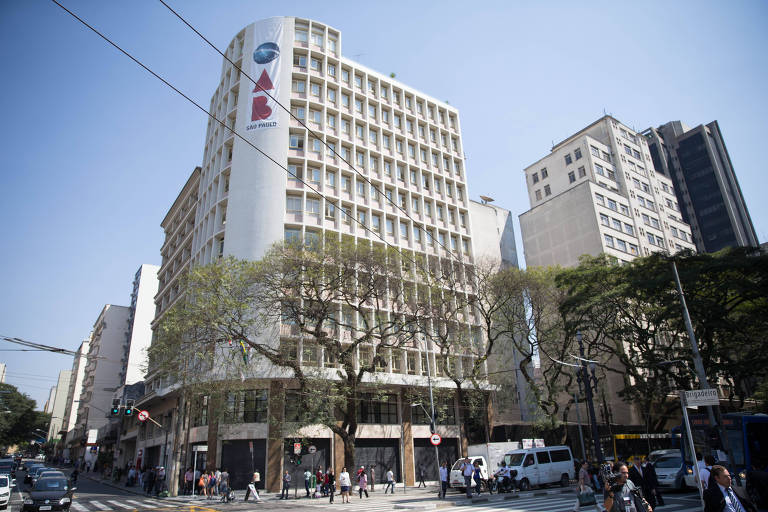 Edifício-sede da OAB-SP, na região central de São Paulo
