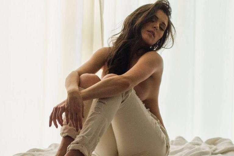A bailarina Fernanda Batista posa para as lentes de fotógrafo goiano