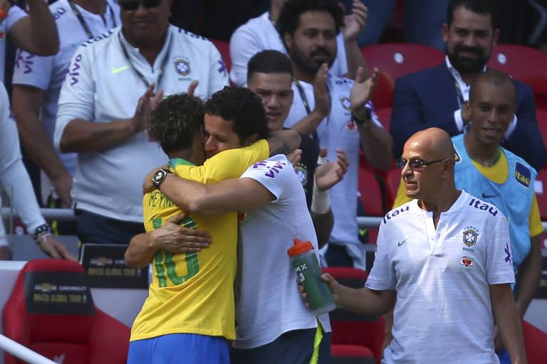 A volta de Neymar