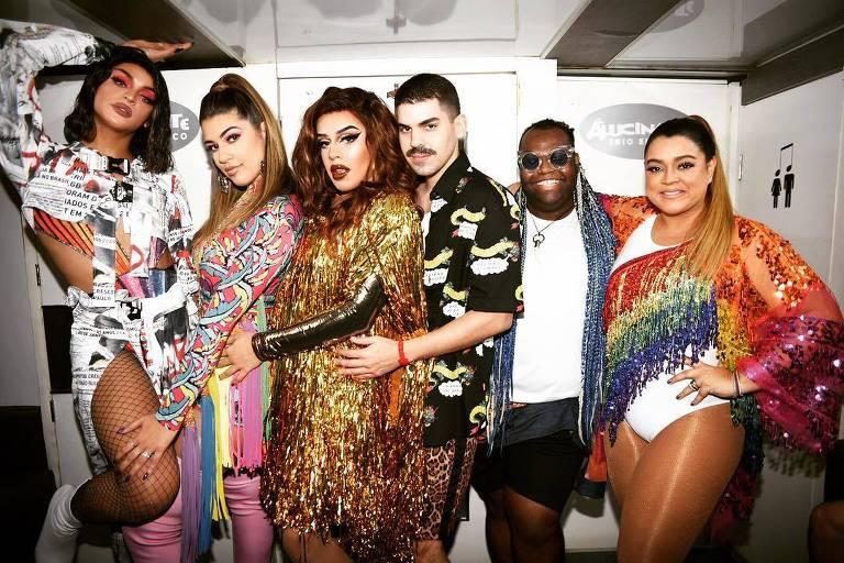 Pabllo Vittar, Vivian Amorim, Gloria Groove, Mateus Carrilho, Only Fuego e Preta Gil participam da Parada do Orgulho LGBTQ