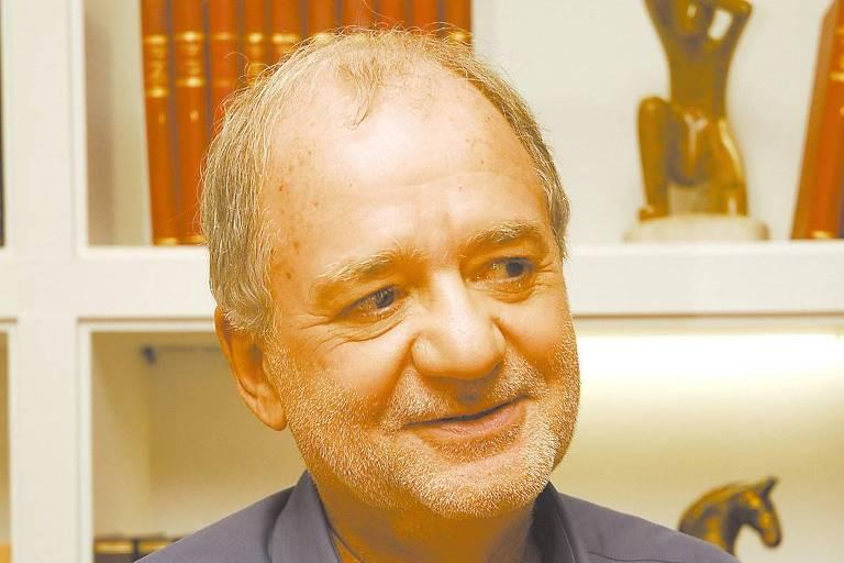 O autor de novelas  Marcílio Moraes, em 2010