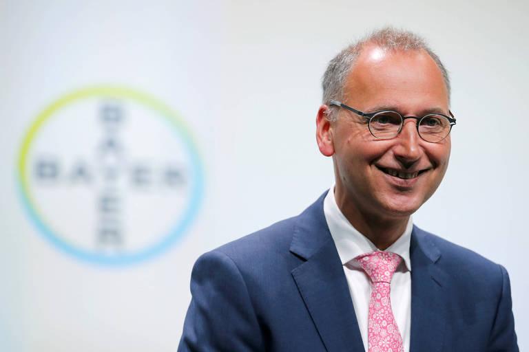 Werner Baumann, presidente da alemã Bayer