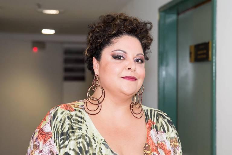 A atriz Fabiana Cozza, que renunciou ao papel de dona Ivone Lara