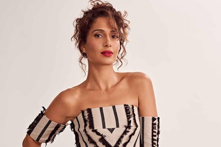 A atriz Camila Pitanga é destaque da edição de junho da revista Cosmopolitan