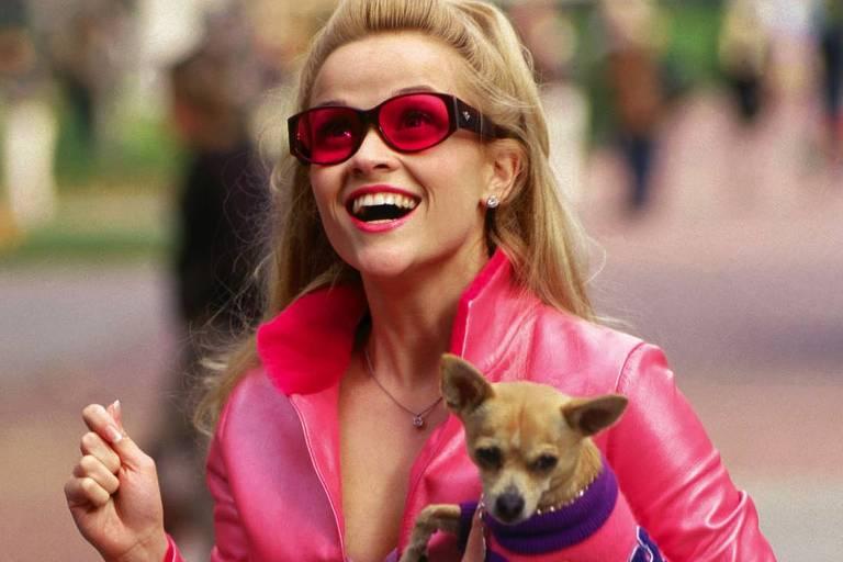 """Atriz Reese Witherspoon em cena de """"Legalmente Loira"""""""