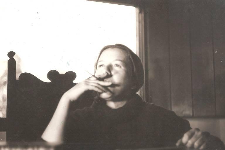 Imagem de arquivo de Hilda Hilst, a homenageada do ano na Flip