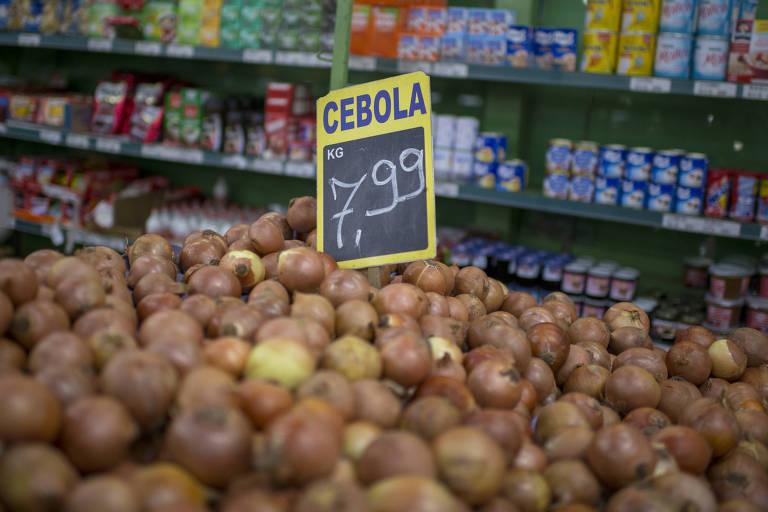 Alimentos cujos preços mais subiram durante paralisação