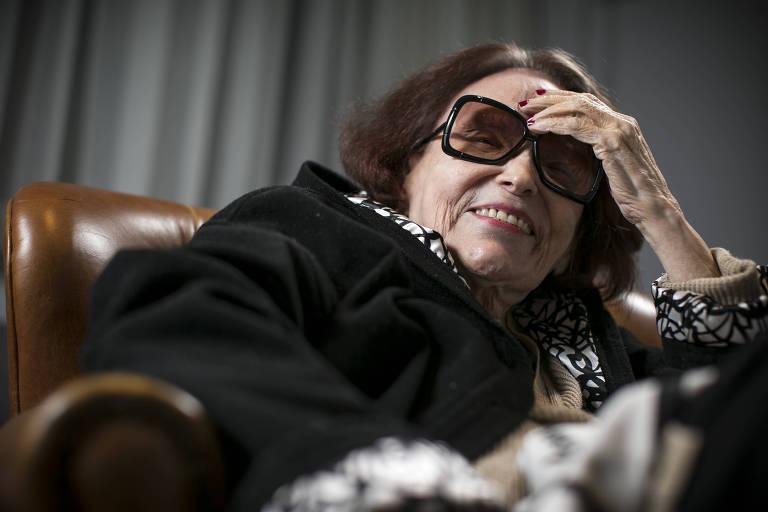 A atriz, cantora e diretora Bibi Ferreira em 2016