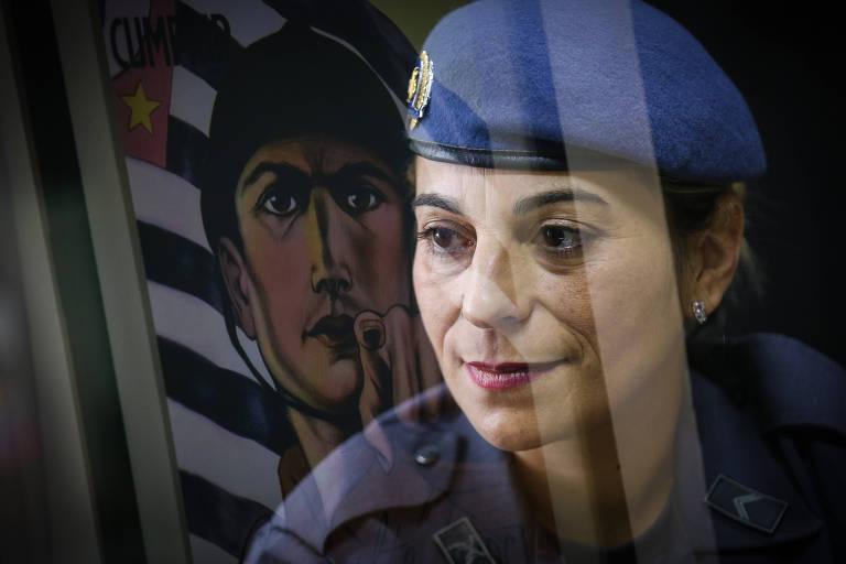 Cabo Katia Sastre, a PM que matou um criminoso na porta da escola da filha