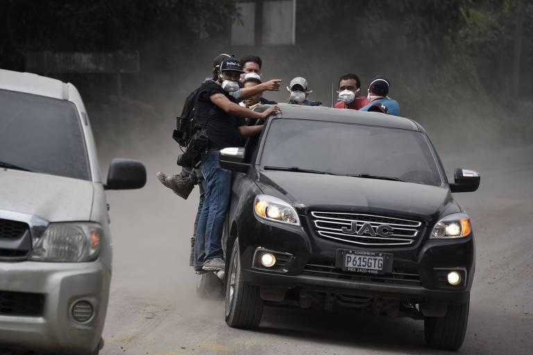 Vulcão de Fogo, na Guatemala, tem nova erupção; número de mortos chega a 73